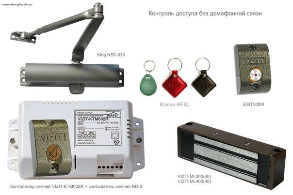домофоны для подъездов в комплекте